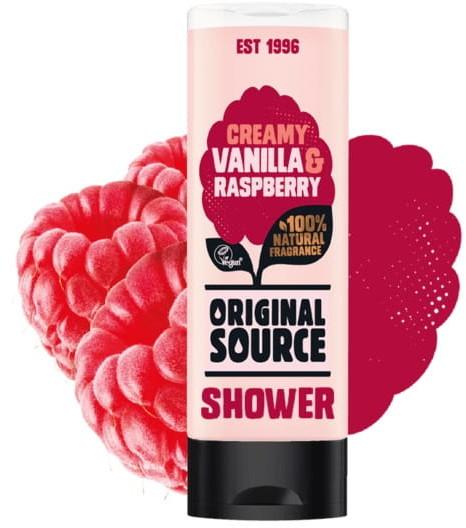 Cussons Żel pod prysznic Vanilla Raspberry