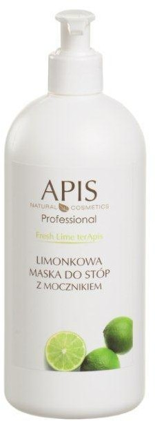 Apis Maska do stóp limonkowa 500ml 51355
