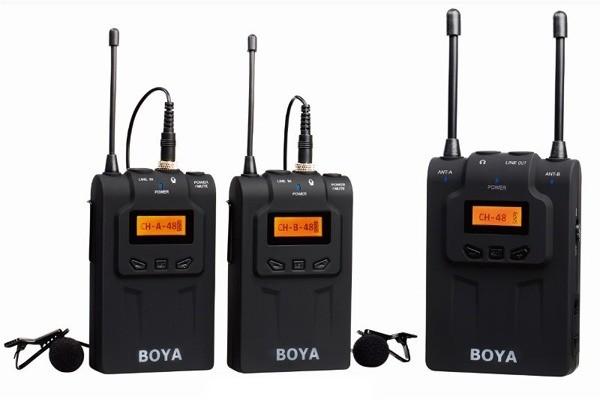 Boya Mikrofon bezprzewodowy BY-WM8 mikroport BYWM8