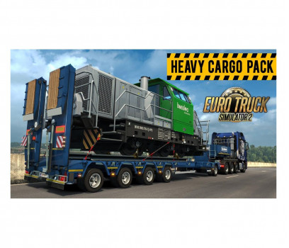 SCS Software Euro Track Simulator 2: Heavy Cargo Pack DLC