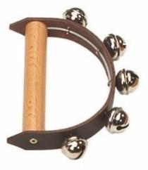 ROHEMA 61572 Dzwonki ręczne janczary wysoki strój, dla dzieci