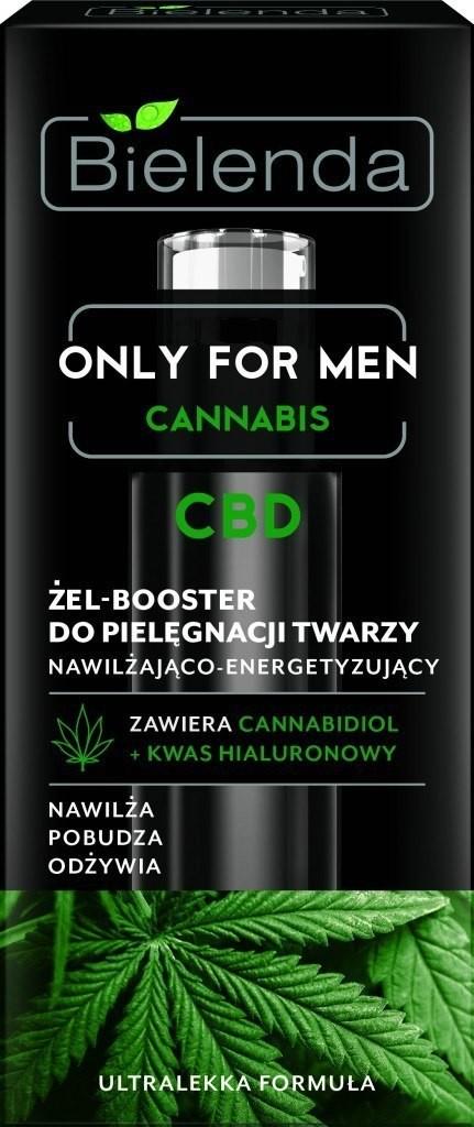 BIELENDA Bielenda Only for Men Cannabis CBD Żel-Booster do pielęgnacji twarzy 30ml 135969