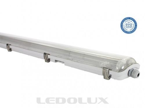 LEDOLUX Oprawa hermetyczna do LED 2x150 cm LEDOLUX Hermetyczna PREMIUM 2x150