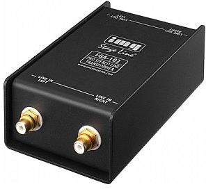 IMG STAGE LINE FGA-102, profesjonalny transformator liniowy, stereo FGA-102