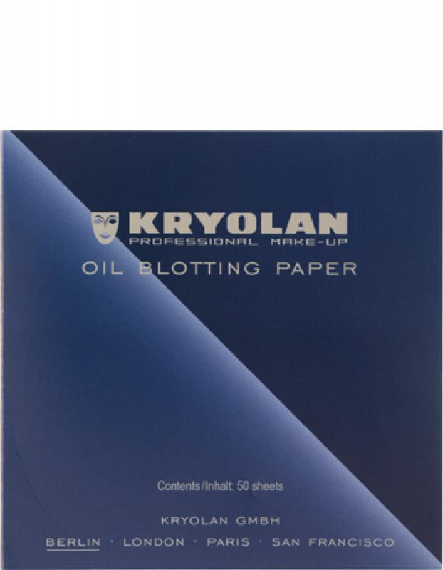 KRYOLAN OIL BLOTTING PAPER - Bibułki matujące 50 szt - ART. 9789 KRYBB5A97