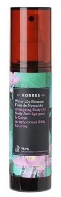 Korres Water Lily Blossom Dry Body Oil Suchy olejek do ciała o zapachu lilii wodnej 100ml