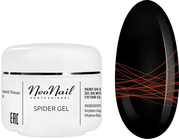 Neonail SPIDER GEL NEON ORANGE 5ML
