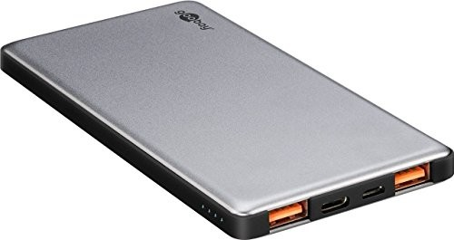 Goobay 59820Quick Charge Powerbank (5000mAh) Szary/czarny 59820