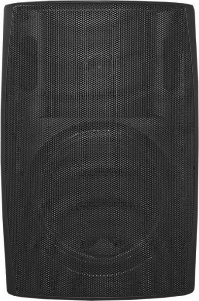 Qoltec Qoltec Dwudrożny głośnik naścienny | RMS 20W | 21cm | 8 Om | TRAFO | Czarny
