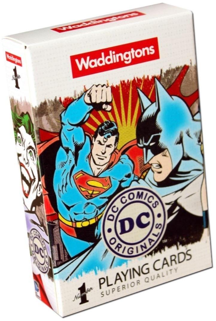 WINNING Waddingtons DC Superheroes Retro