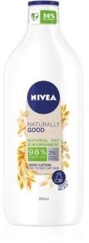 Nivea Naturally Good odżywcze mleczko do ciała 350 ml