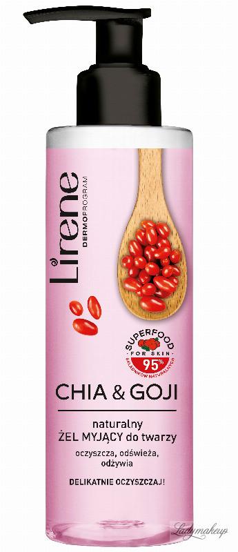 Lirene Lirene - SUPERFOOD FOR SKIN - Naturalny żel myjący do twarzy - Chia & Goji - 190ml LIRTGML
