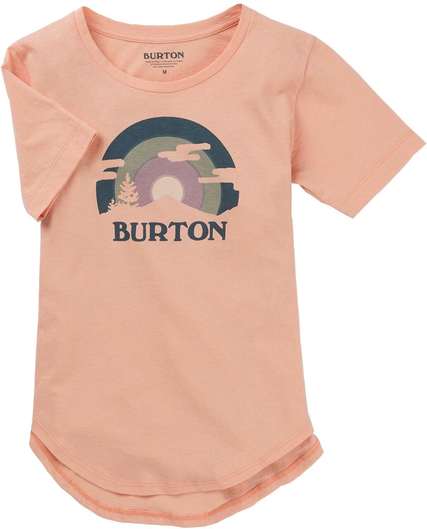 Burton t-shirt GIRLS CALLON SS Dusty Pink