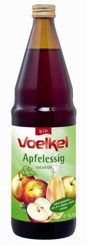 Voelkel OCET JABŁKOWY NIEFILTROWANY BIO 750 ml - VOELKEL