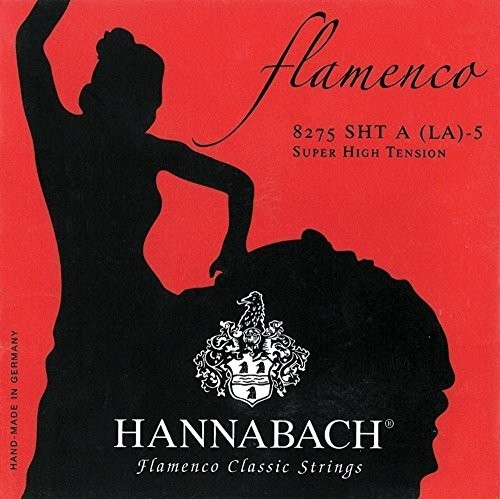 Hannabach Klassik Gita rrensaiten Serie 827 Super High Tension Flamenco Classic  D4