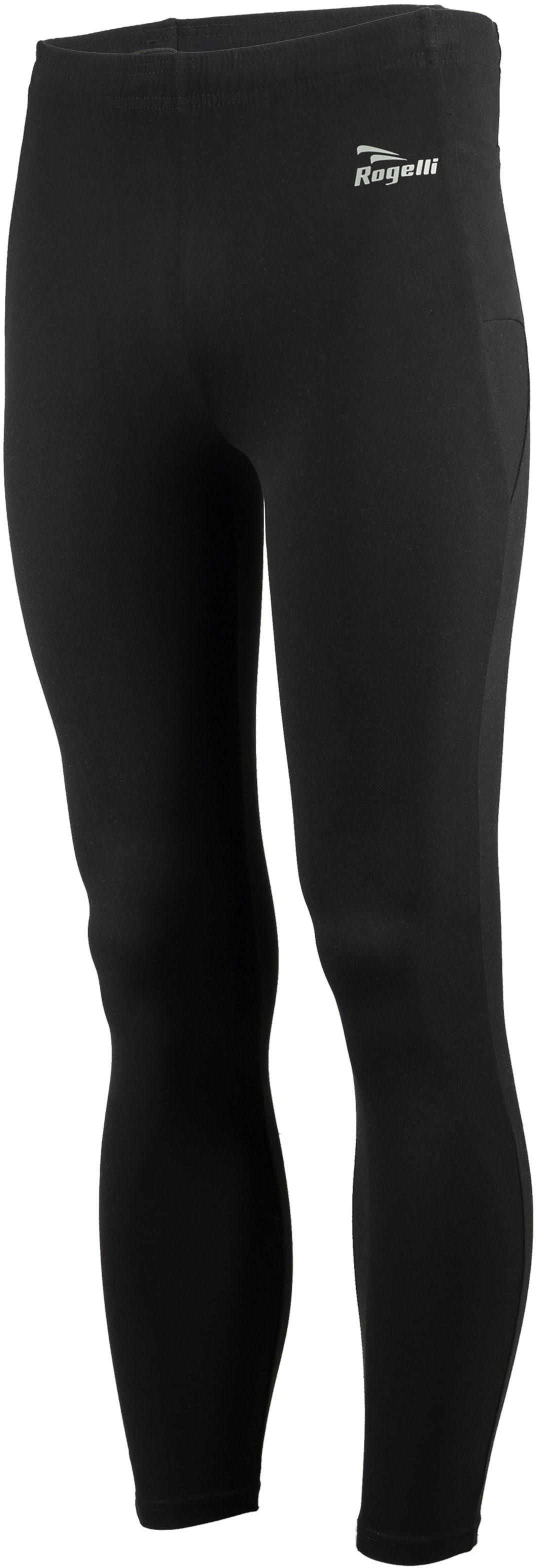Rogelli 800.002 TRAIL TIGHT męskie spodnie biegowe czarne