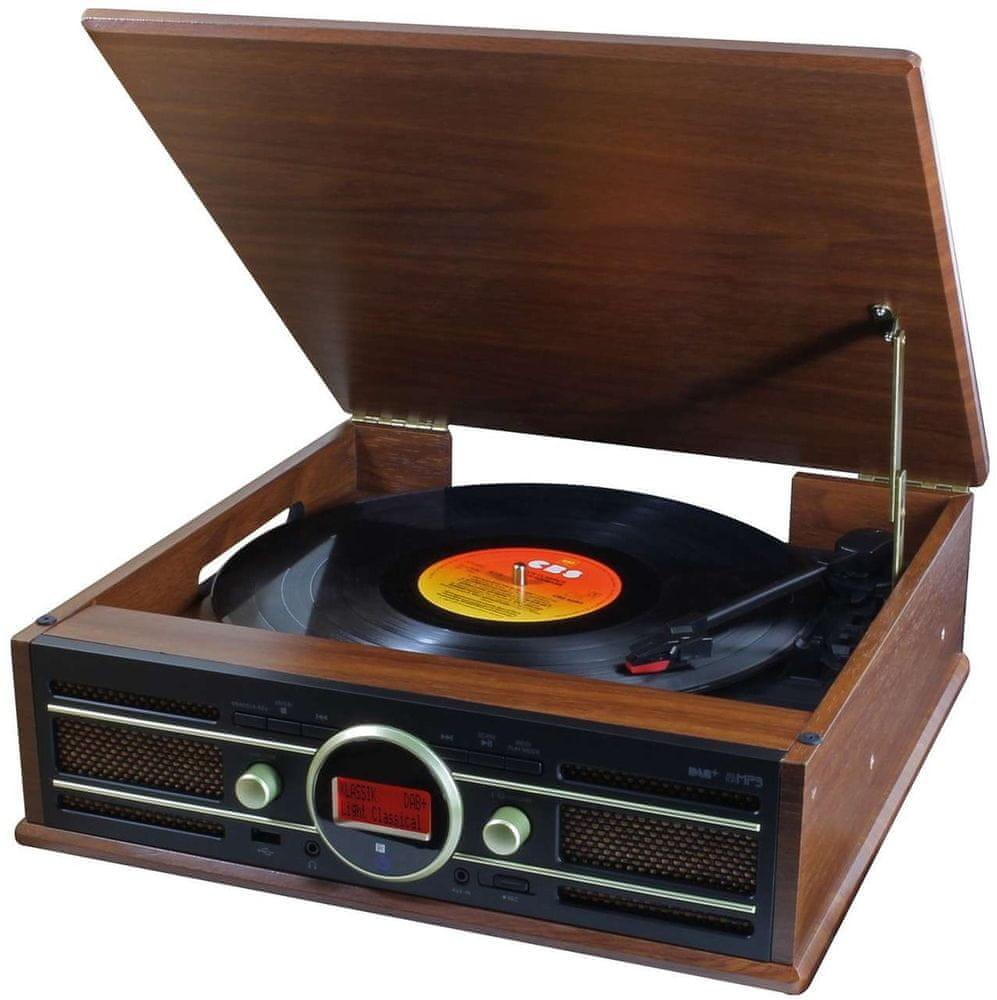 Soundmaster PL585BR brązowy
