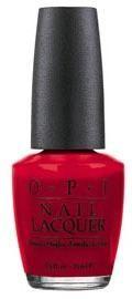 O.P.I Nail Lacquer lakier do paznokci I'm Not Really A Waitress/Czerwone Wino NLH08 15ml