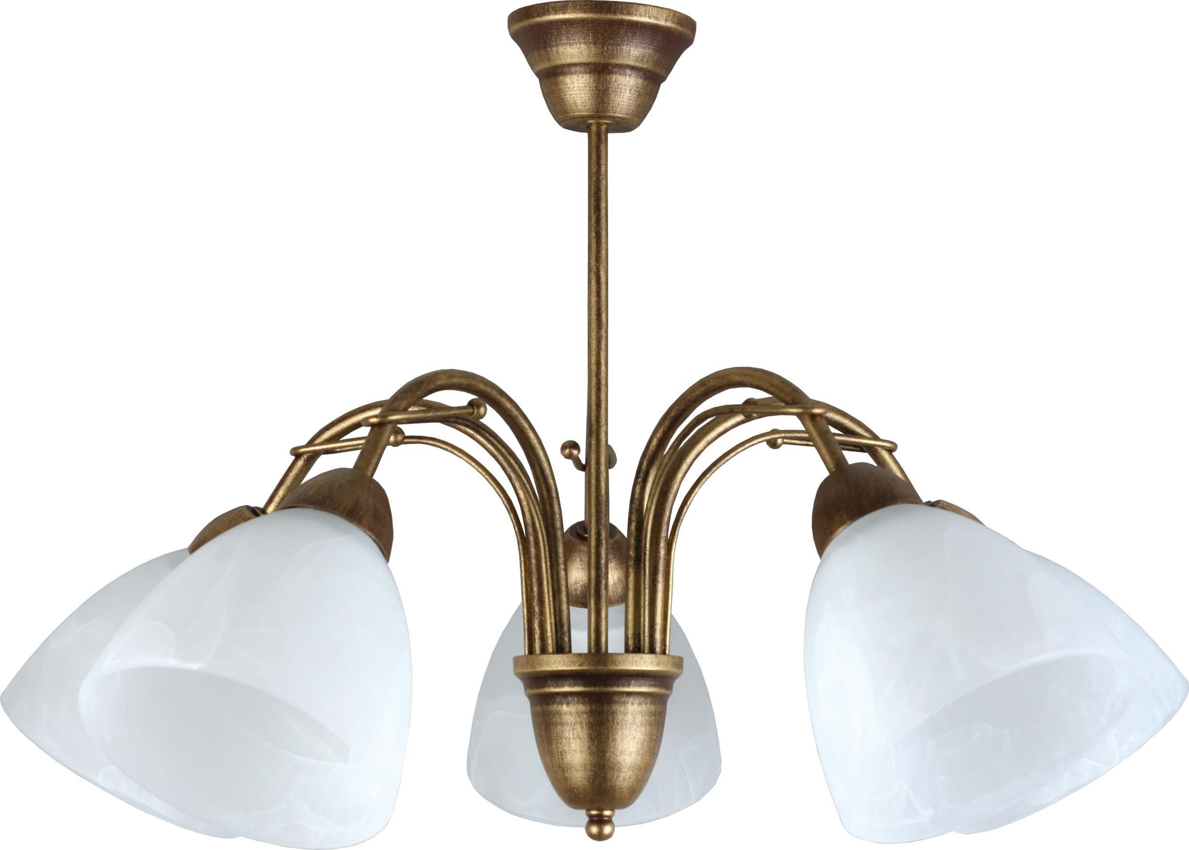Lampex Żyrandol Klara 5 504/5
