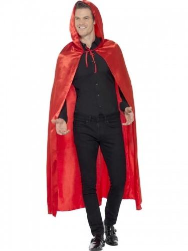 Smiffys Strój Czerwony Kapturek, płaszcz z kapturem 45529