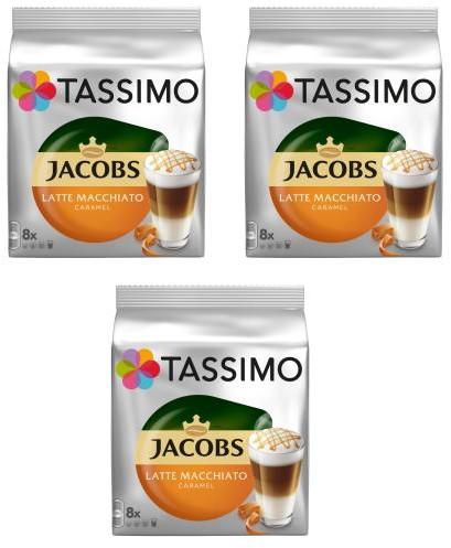 Jacobs Tassimo Tassimo Latte Macchiato Caramel 3 opakowania