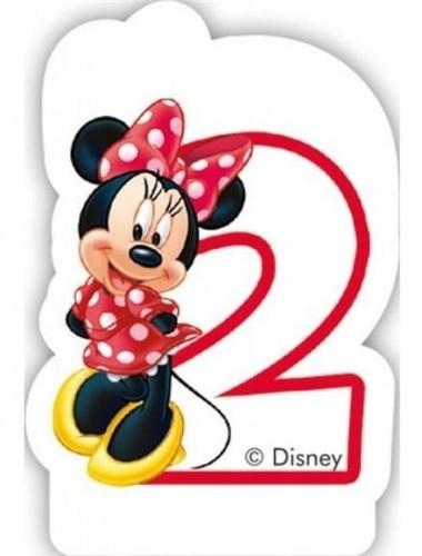 PARTY WORLD Świeczka cyferka Myszka Minnie Mouse - 2 SCMM/9212-2-5