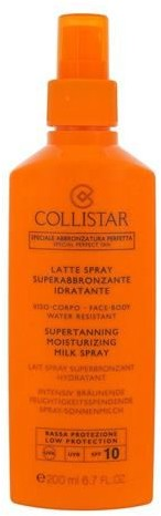 Collistar Special Perfect Tan Supertanning Moisturizing Milk Spray Preparat do opalania ciała 200 ml ph_41076