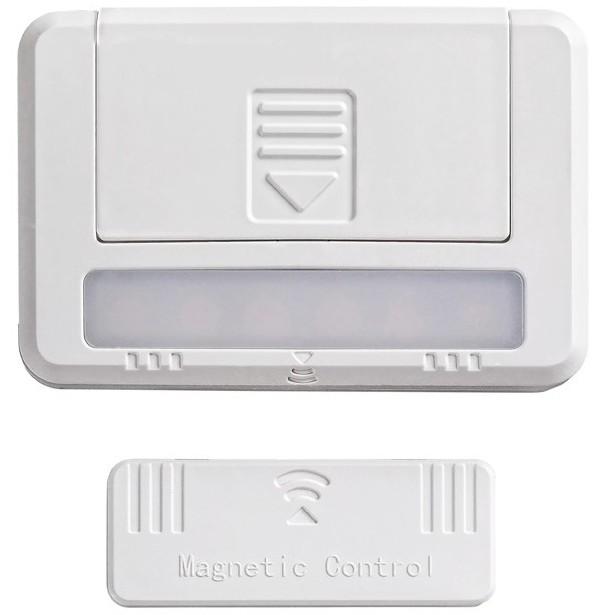 Rabalux 5675 - ZESTAW 2xLED Oświetlenie szafki MAGNUS LED/0,5W/230V
