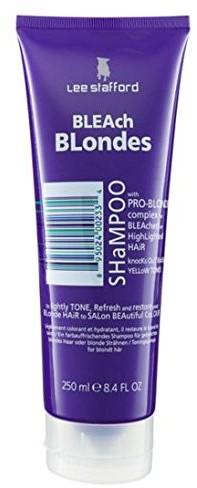 Lee Stafford Bleach Blonde szampon, 1er Pack (1X 250ML) 200115
