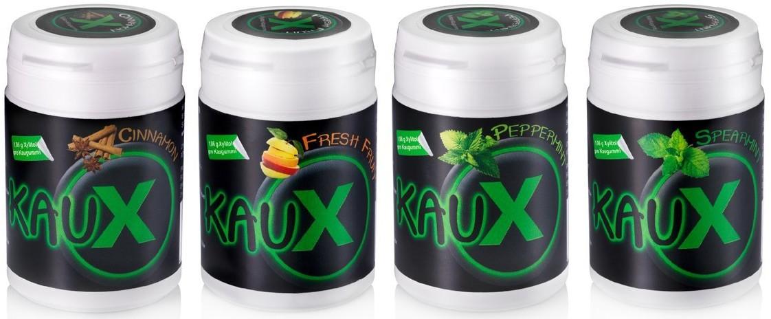 SC Enterprises Antypróchnicze gumy do żucia z ksylitolem - KauX Antypróchnicze gumy do żucia z ksylitolem - 40 szt.