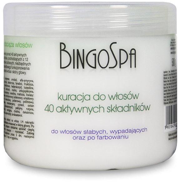 BingoSpa kuracja do włosów z 40 składników aktywnych, 500 g