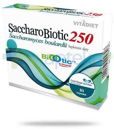 Vitadiet SaccharoBiotic250 probiotyk 10 kapsułek 3417861