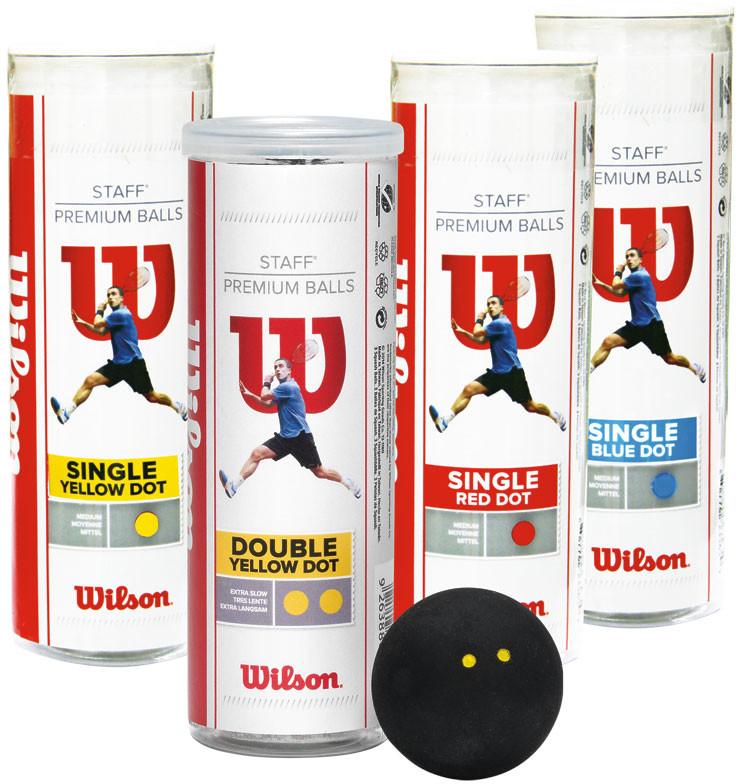 Wilson 3-Pack Tuba 1 kropka żółta WRT618600