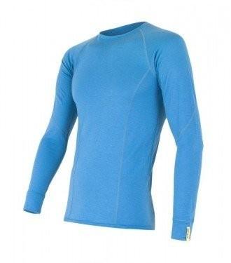 Sensor Termoaktywna bluzka męska MERINO ACTIVE TEE LS rozmiar S kolor niebieski