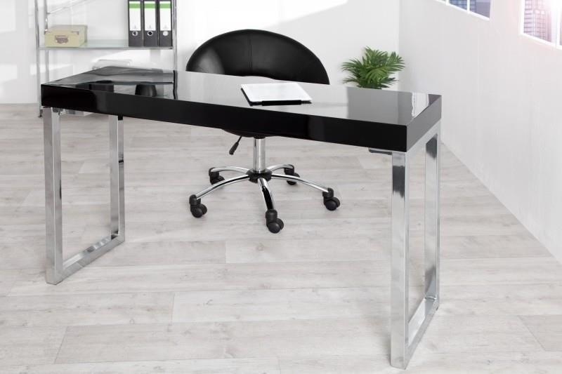 Invicta Interior INVICTA biurko VERK 120x40 czarne BST19SW/HYZ1-1
