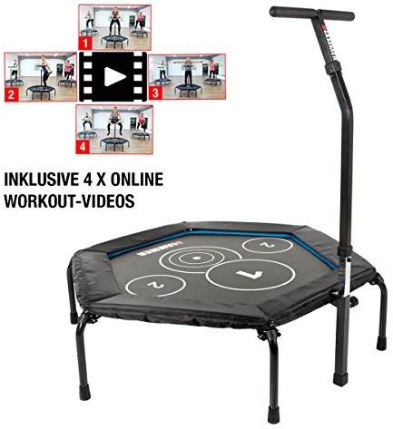 Hammer Fitness Trampolin Cross Jump, 98 cm huepffl powierzchni, do 130 kg gwicht użytkownika 66246