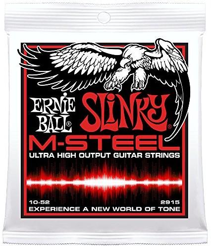 Ernie Ball M-Steel Electric Guitar Strings 2915