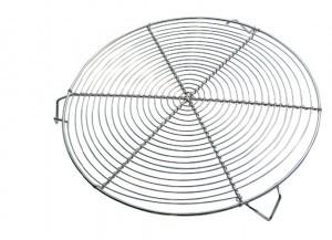 DE BUYER Ruszt okrągły na nóżkach śr 32 cm | D-0237-32 D-0237-32
