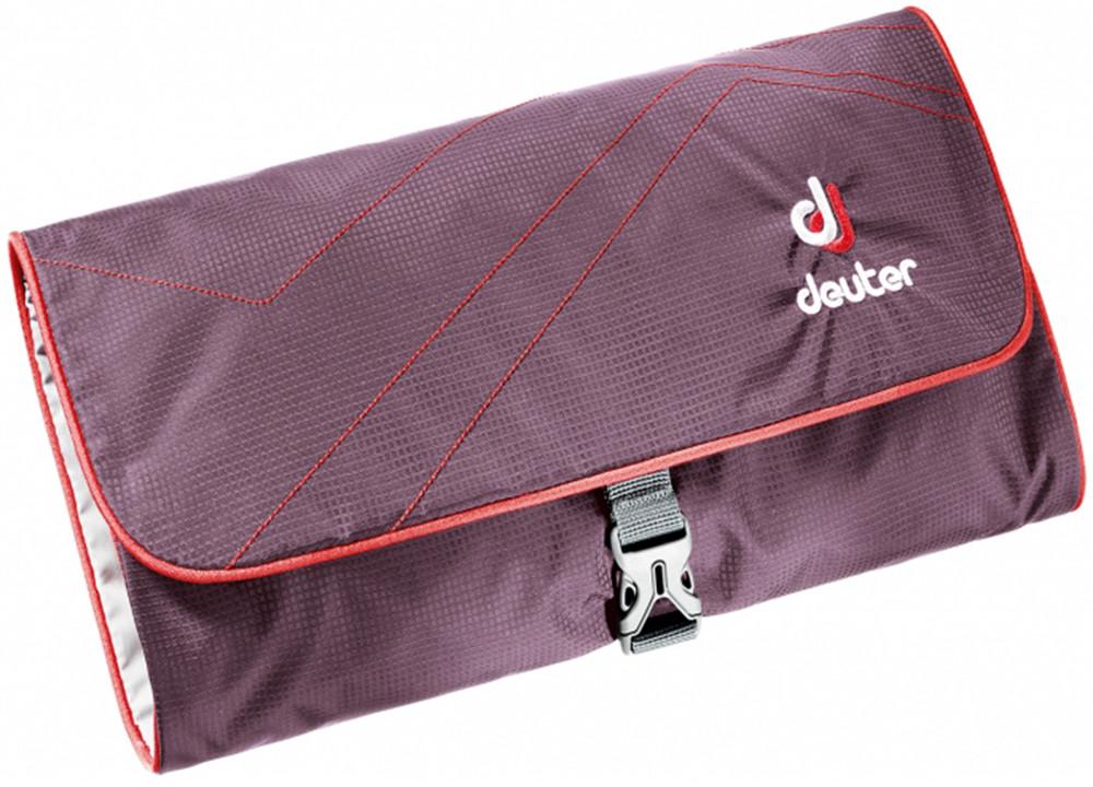 Deuter Kosmetyczka turystyczna Wash Bag II Aubergine/Fire roz uniw 39434-5522) 39434-5522