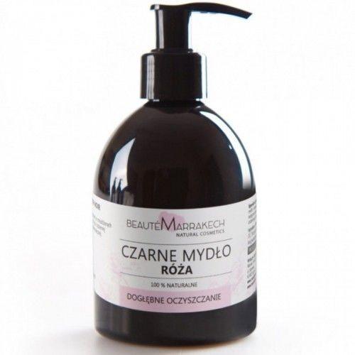 Savon Noir Beaute marrakech Naturalne czarne mydło różane w płynie 250ml 0755-620C5