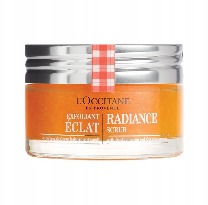 L'occitane Rozświetlający Peeling Do Twarzy 75ML