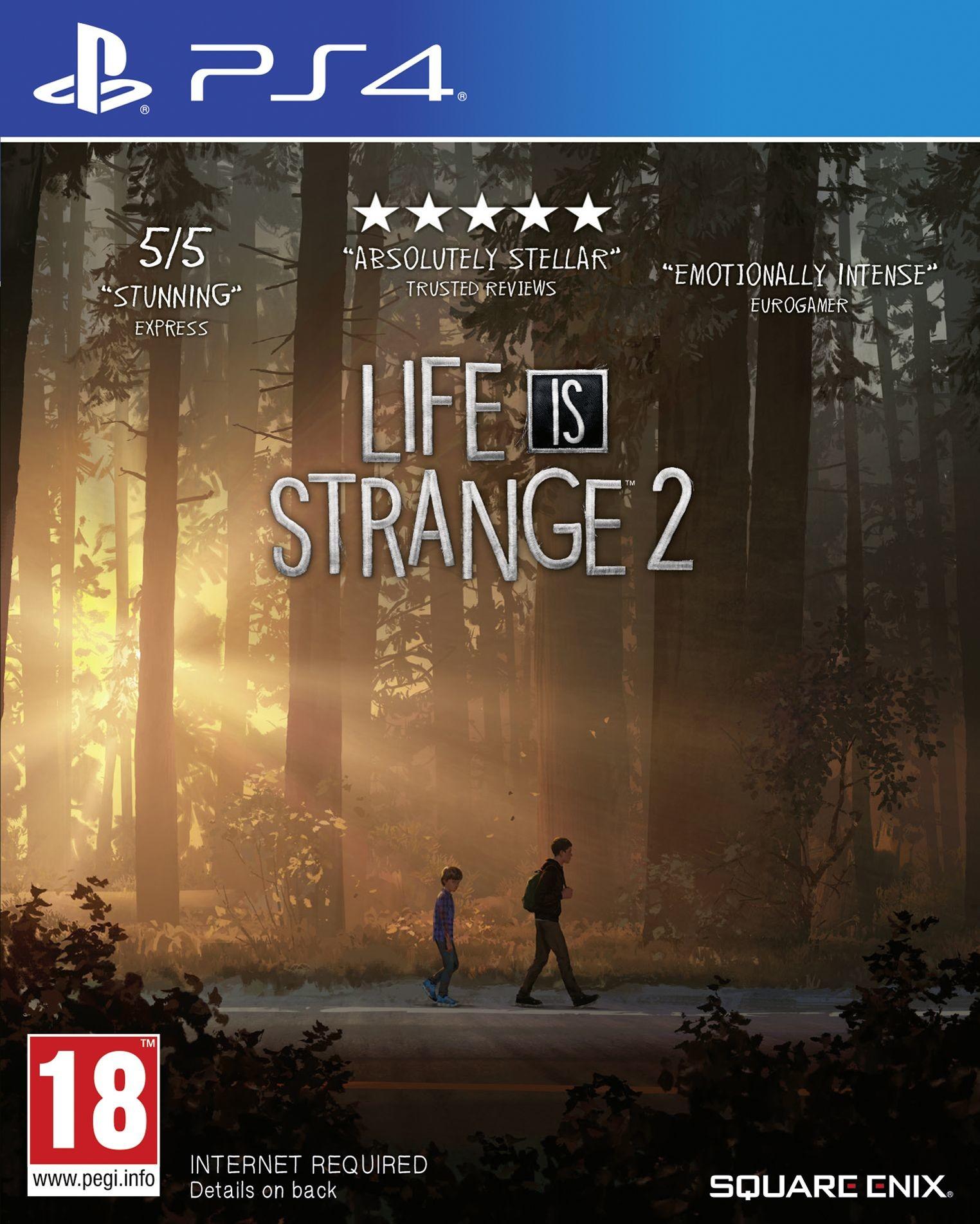 Life is strange 2 (GRA PS4)
