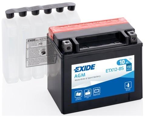 EXIDE ETX12-BS