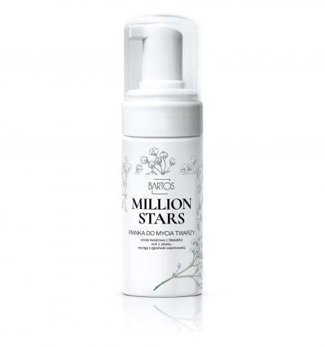 Bartos cosmetics Pianka do mycia twarzy MILLION STARS Bartos Cosmetics, 100ml 4A47-432BC