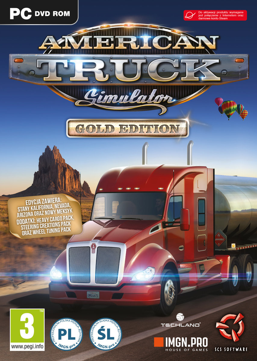 IMGN.PRO American Truck Simulator Gold Edition PC