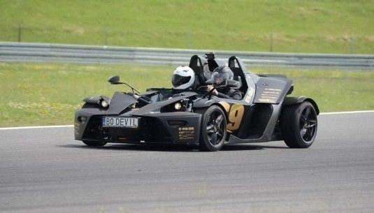 Jazda bolidem KTM XBOW kierowca Tor Olsztyn 1 okrążenie