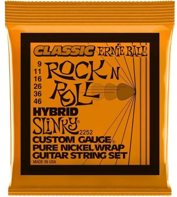 Ernie Ball 2252 9-46 Classic Rock n Roll Hybrid