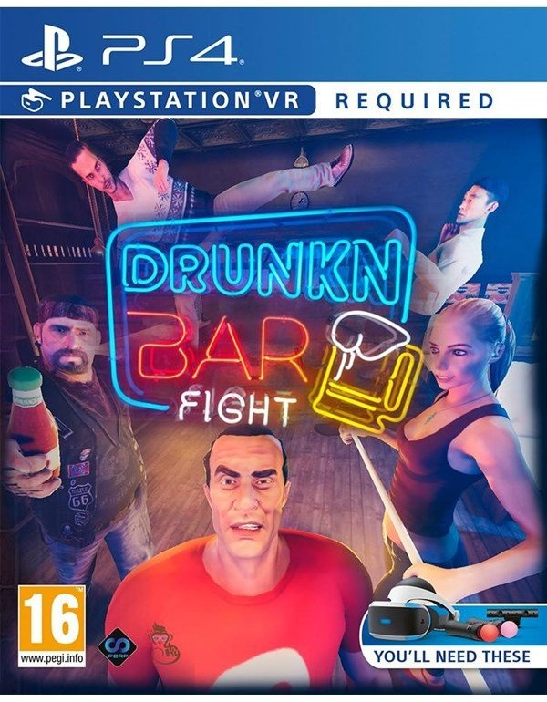 Drunkn Bar Fight (GRA PS4 VR)
