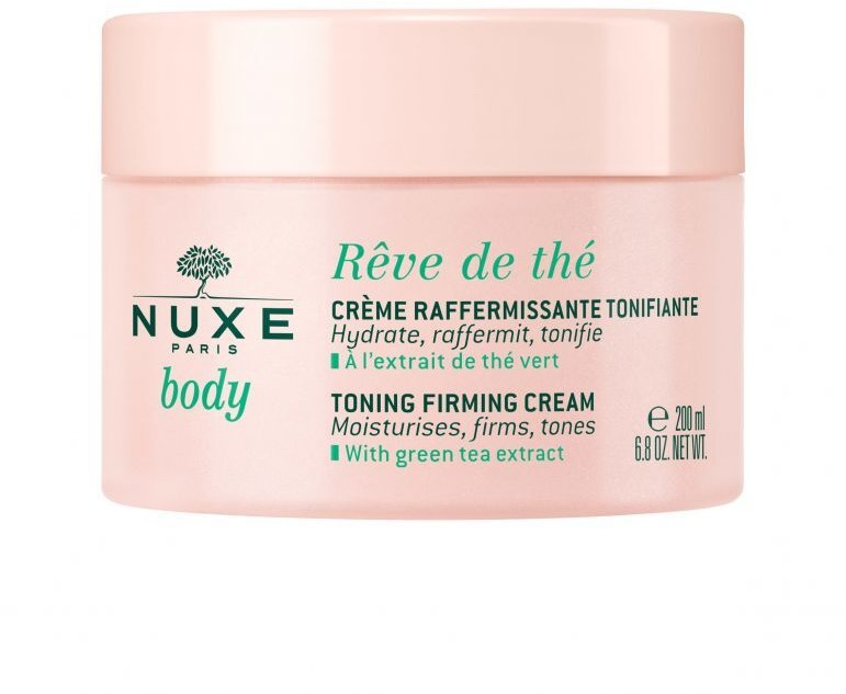 Nuxe LABORATOIRE PARIS Body Reve de The Tonizujący krem ujędrniający 200 ml