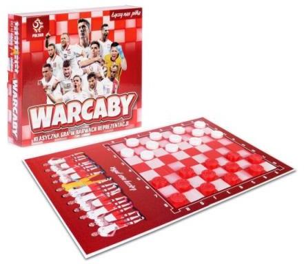 Artyk Warcaby klasyczna gra w barwach reprezentacji - licencja PZPN 137976
